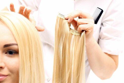 Как наращивают волосы — подробное описание