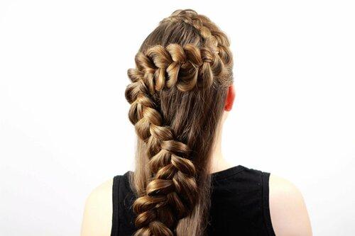 Как плести французскую косу наоборот?