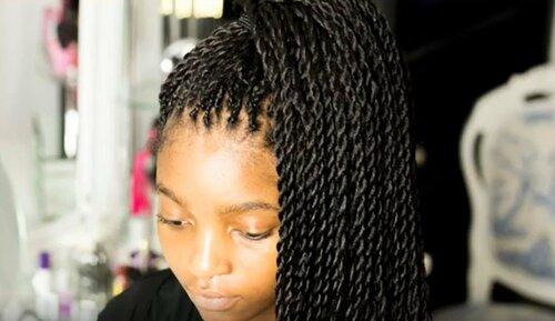 Сенегальские косы — особенности прически