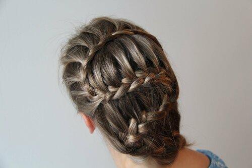 Самостоятельное плетение кос