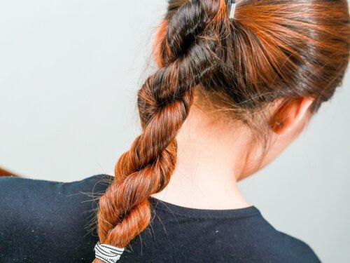 Коса жгут — просто и изысканно