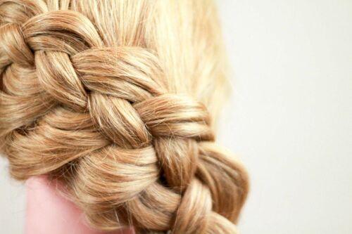 Коса из 3 прядей — нестареющая классика
