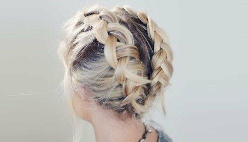 Варианты плетения косичек для коротких волос
