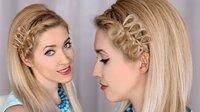 Греческая коса — схемы плетения