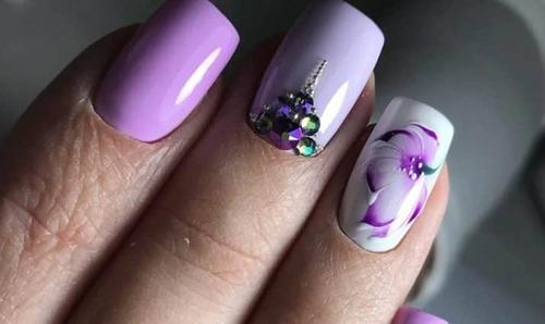 Как красиво накрасить ногти обычным лаком в домашних условиях