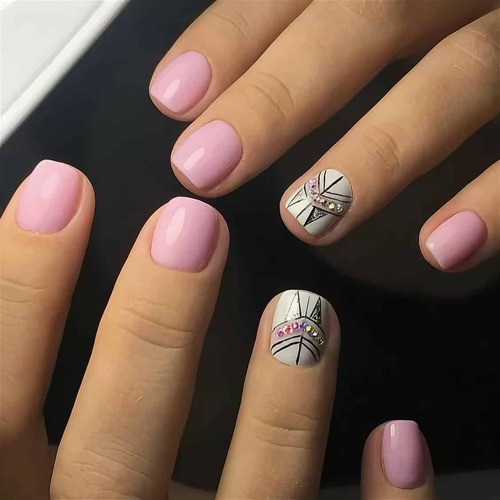 Широкие и трапециевидные ногти