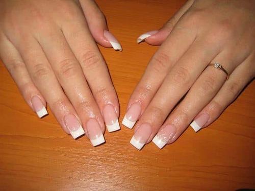 Длина ногтей для наращивания