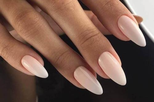Как сделать миндальную форму ногтей?