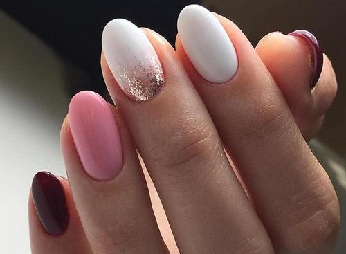 Как сделать овальную форму ногтей