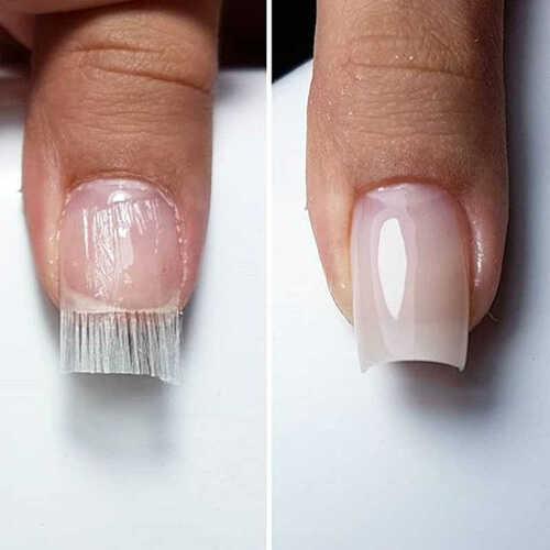 Наращивание ногтей стекловолокном в домашних условиях
