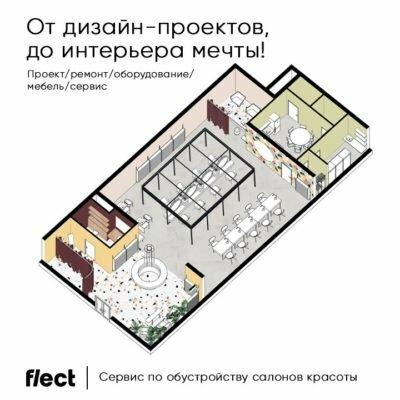 Flect-Beauty — конструктор готовых решений для бьюти пространств