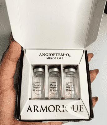 AngioFtem–O2 инновационный препарат от купероза и сосудистой сетки