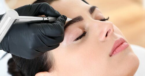Аппаратная техника микроблейдинга — волосковый метод татуажа