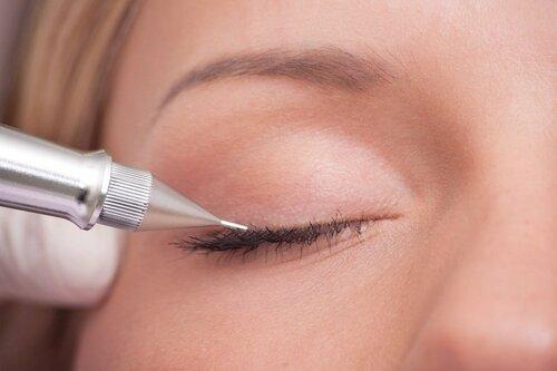 Как делают татуаж глаз стрелки видео — стрелки классические и с растушевкой