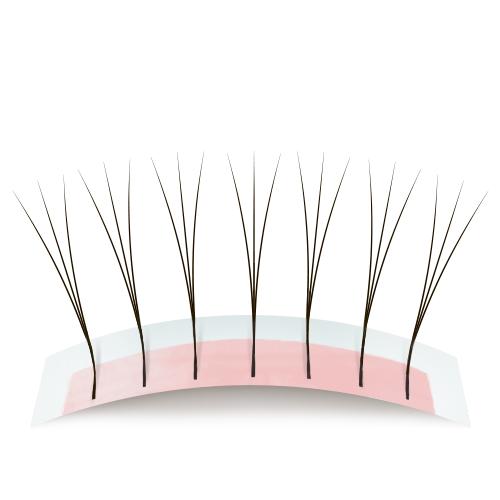 Наращивание уголков ресниц — схемы наращивания