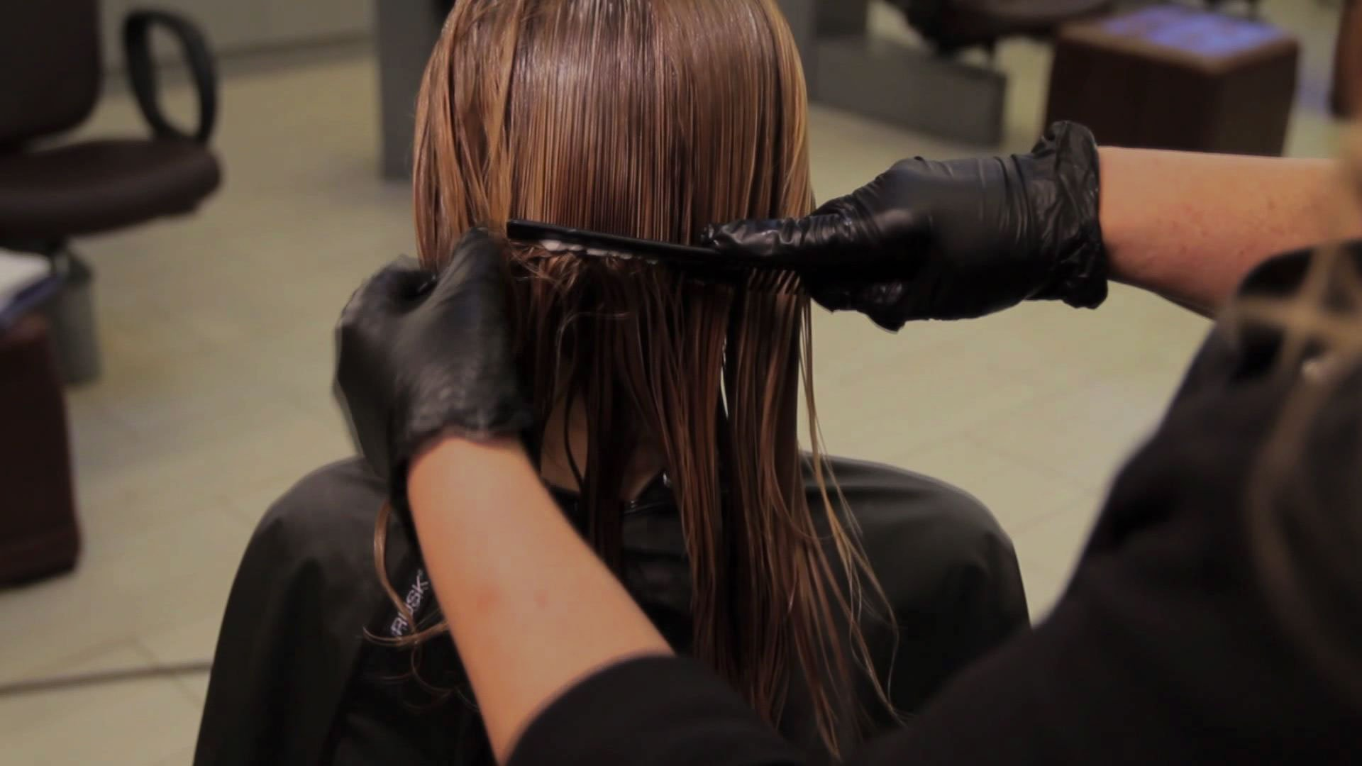 Завивка волос после кератинового выпрямления
