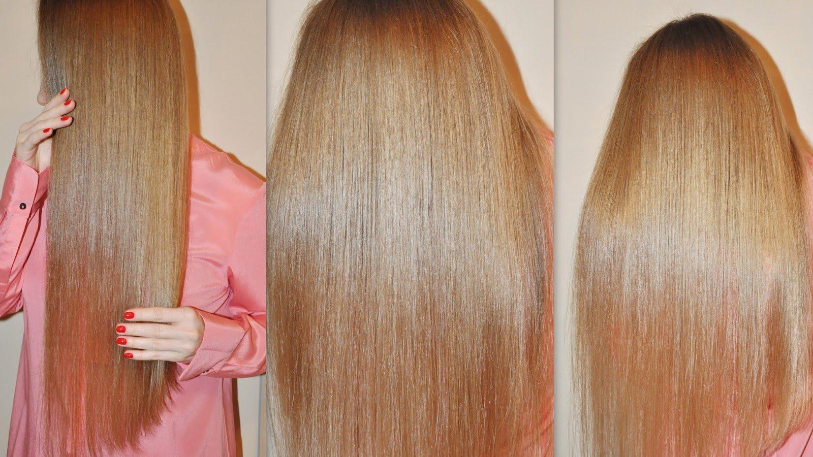 Кератин для осветленных волос