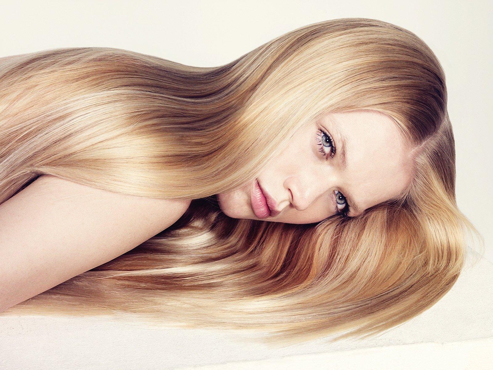 Кератин на осветленные волосы