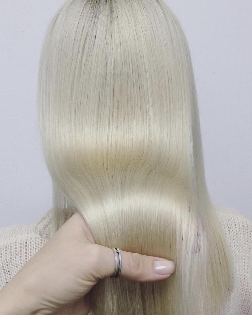 Средства с кератином для выпрямления волос