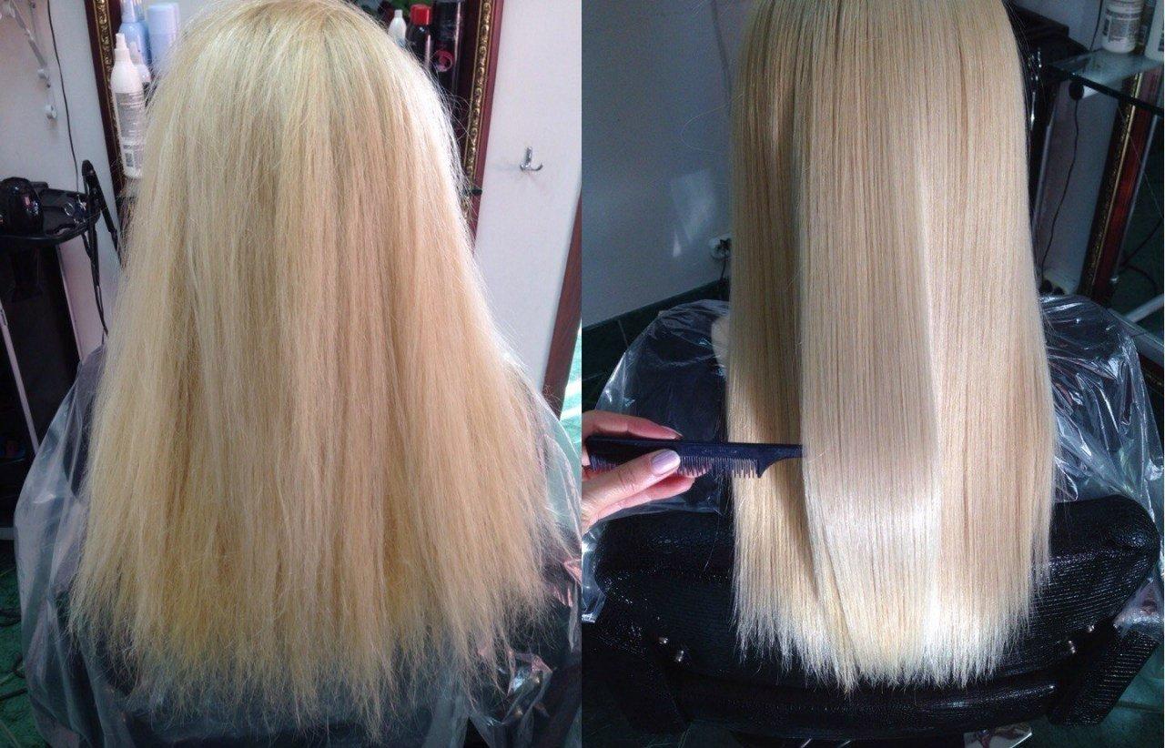 Уход за волосами после процедуры ботокса