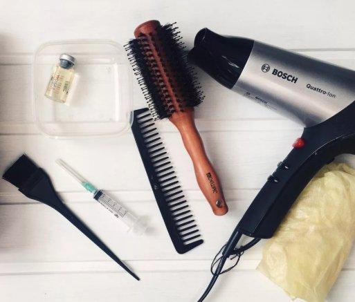 средства для ботокса волос