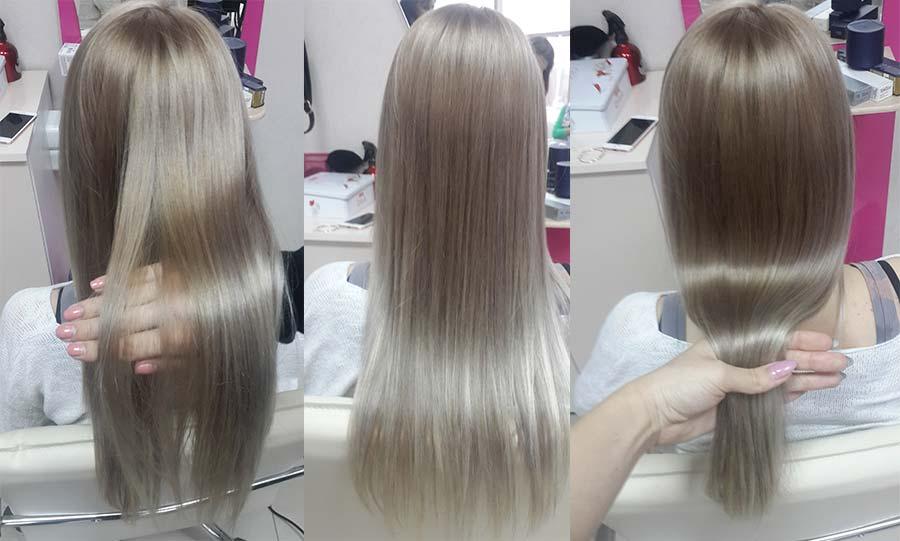 Холодный ботокс для волос