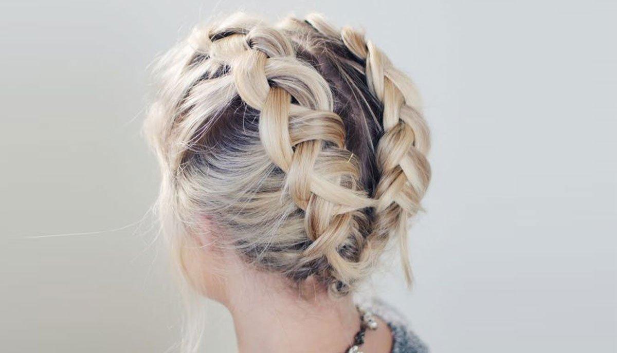 французских косичек на короткие волосы