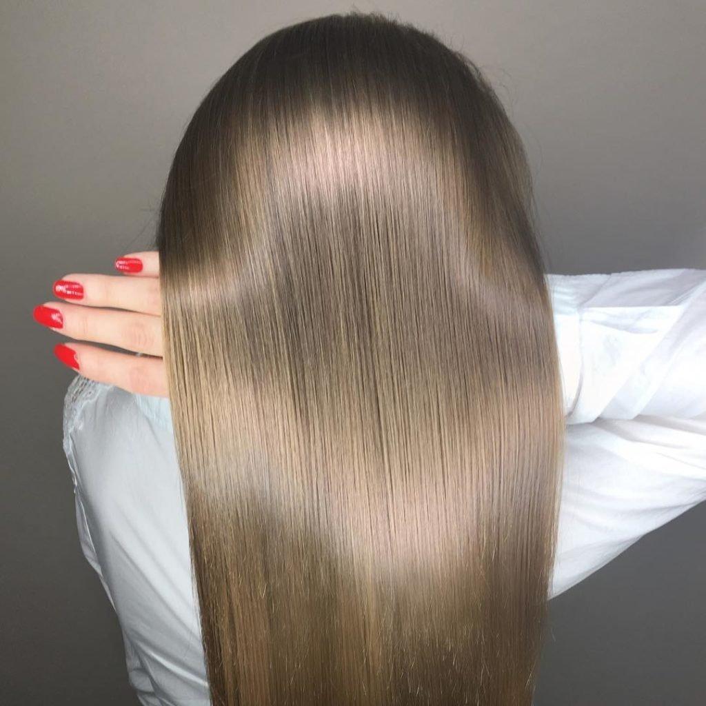 Кератиновое выпрямление и ламинирование волос