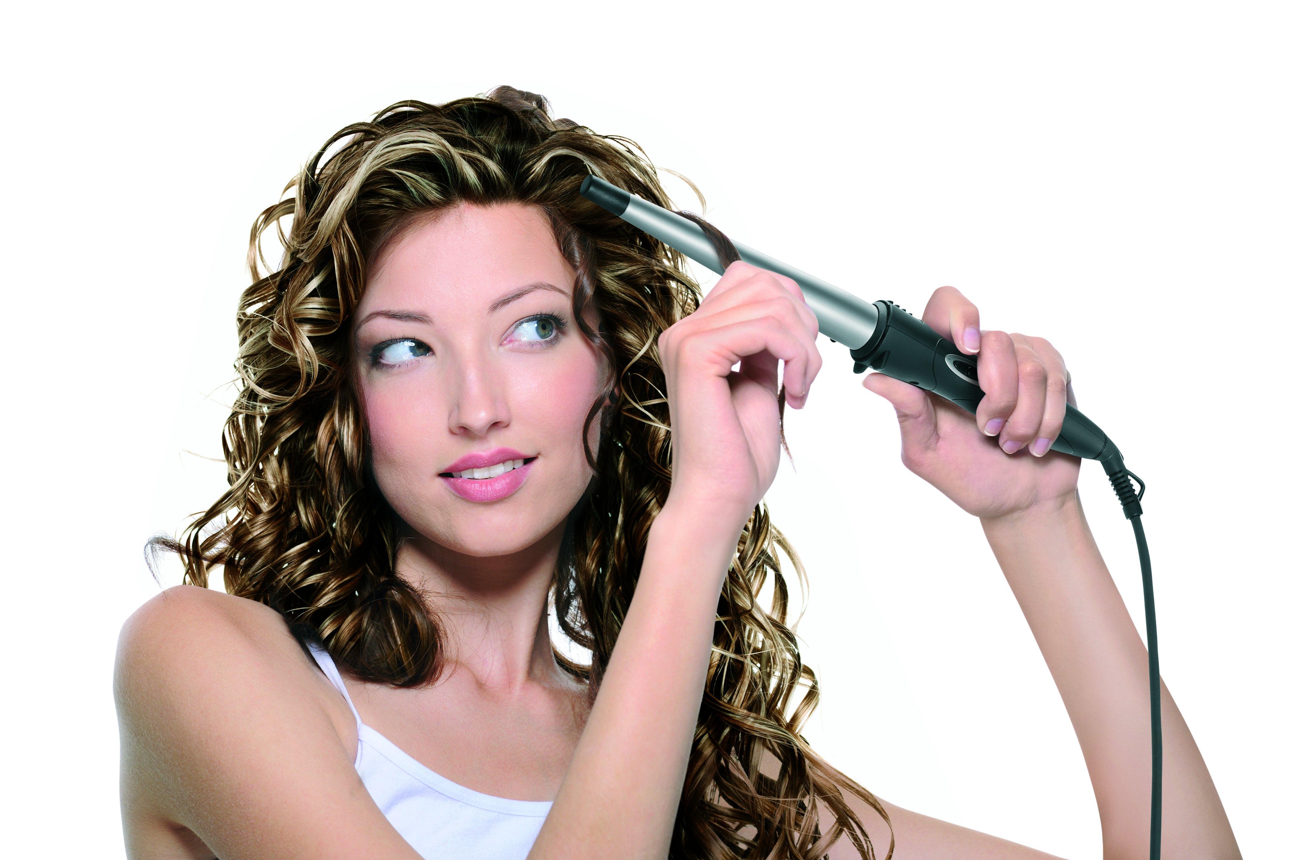 Сделать на волосах кудряшки