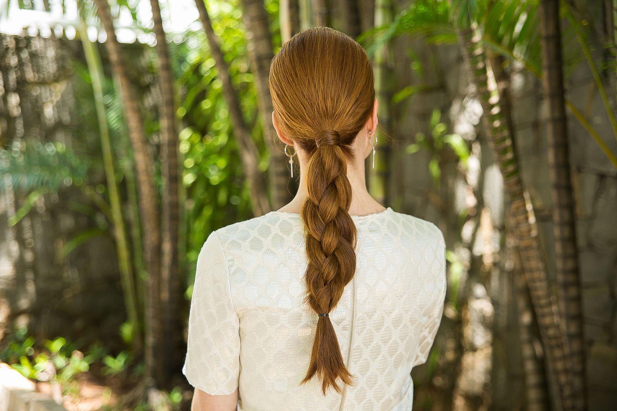 косу в 4 пряди