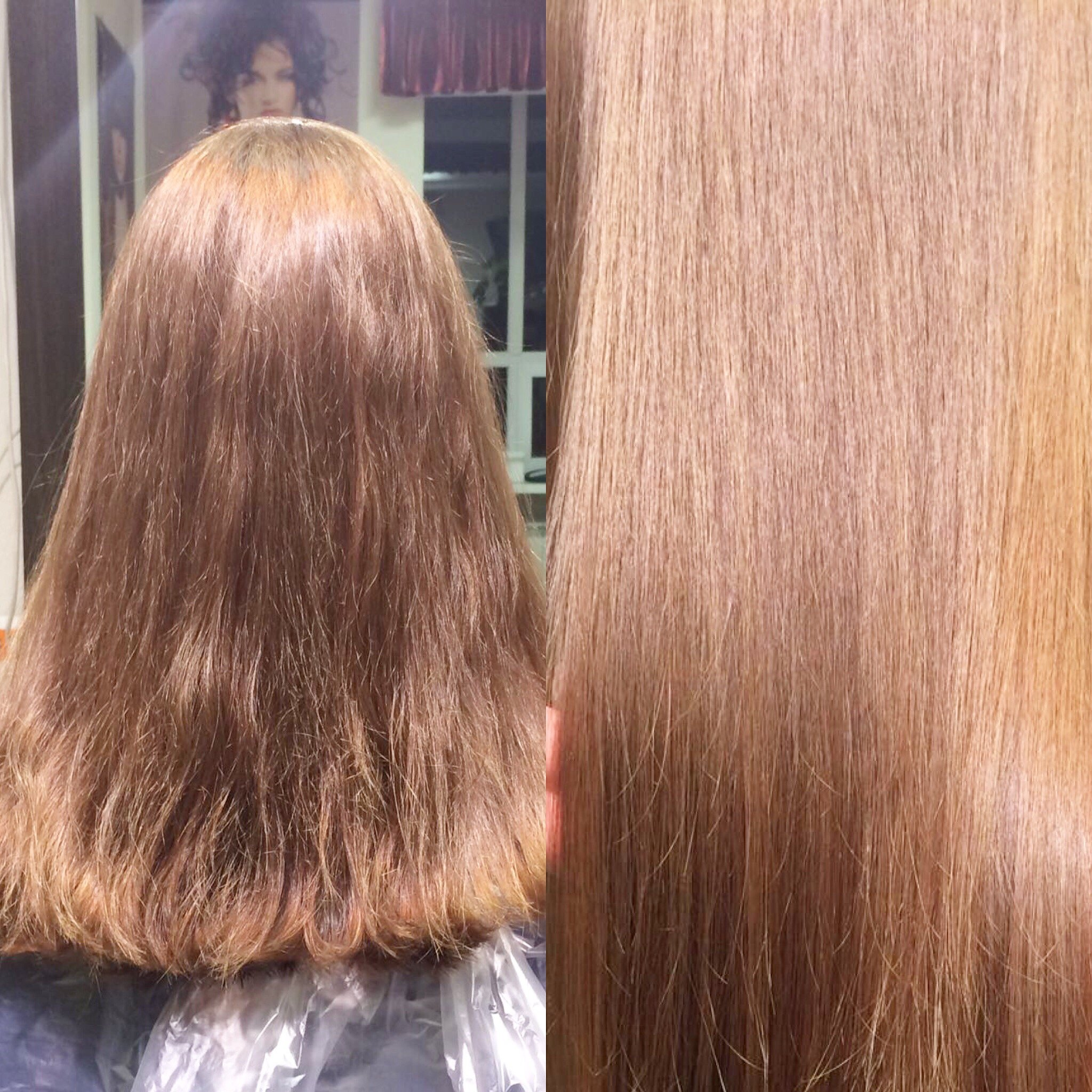 Кератинизация для волос