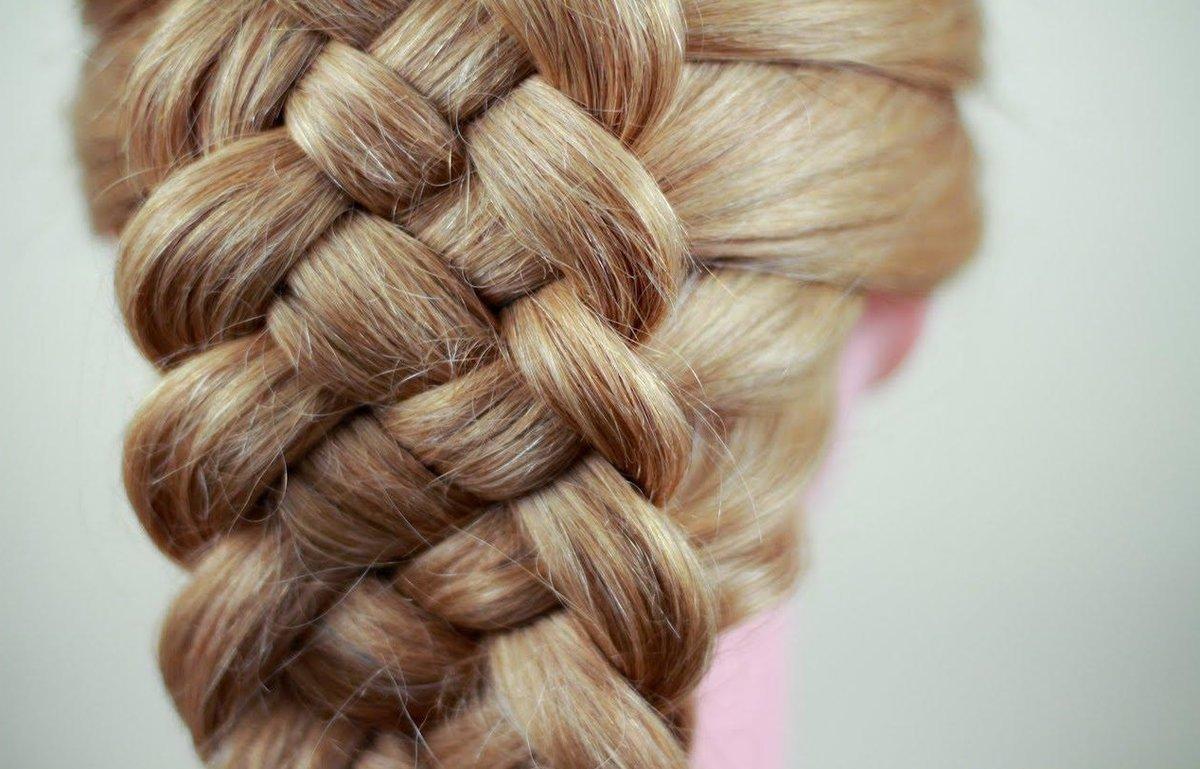 Пошаговая инструкция плетения косы из 4 прядей
