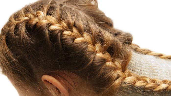 Как заплести французскую косу ребенку