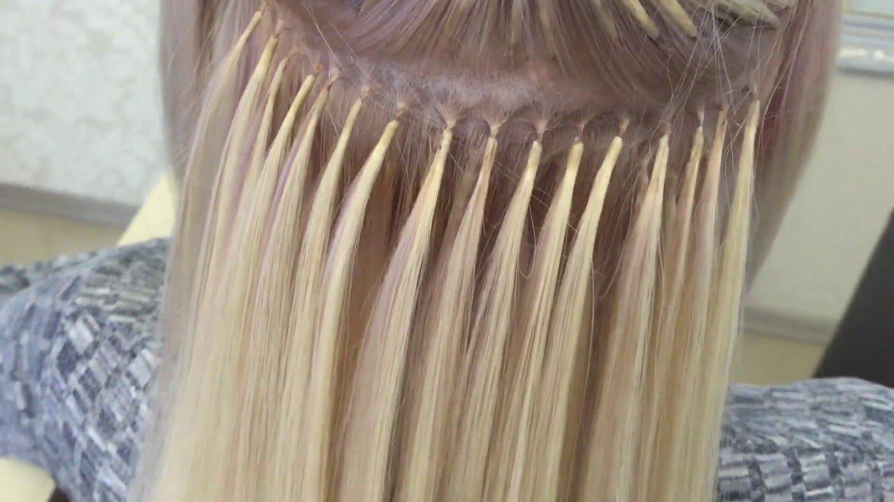 можно ли красить нарощенные волосы на капсулах