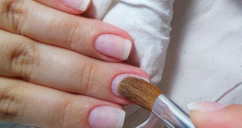 наращивание ногтей акриловой пудрой