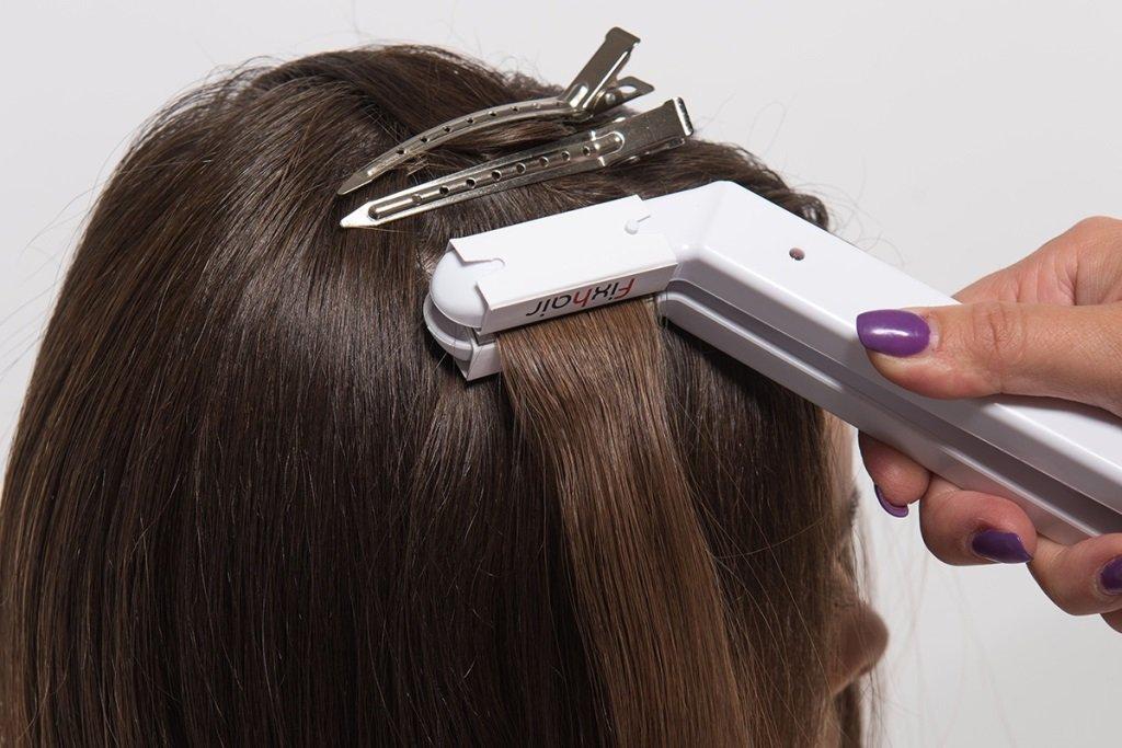 Лазерное наращивание волос