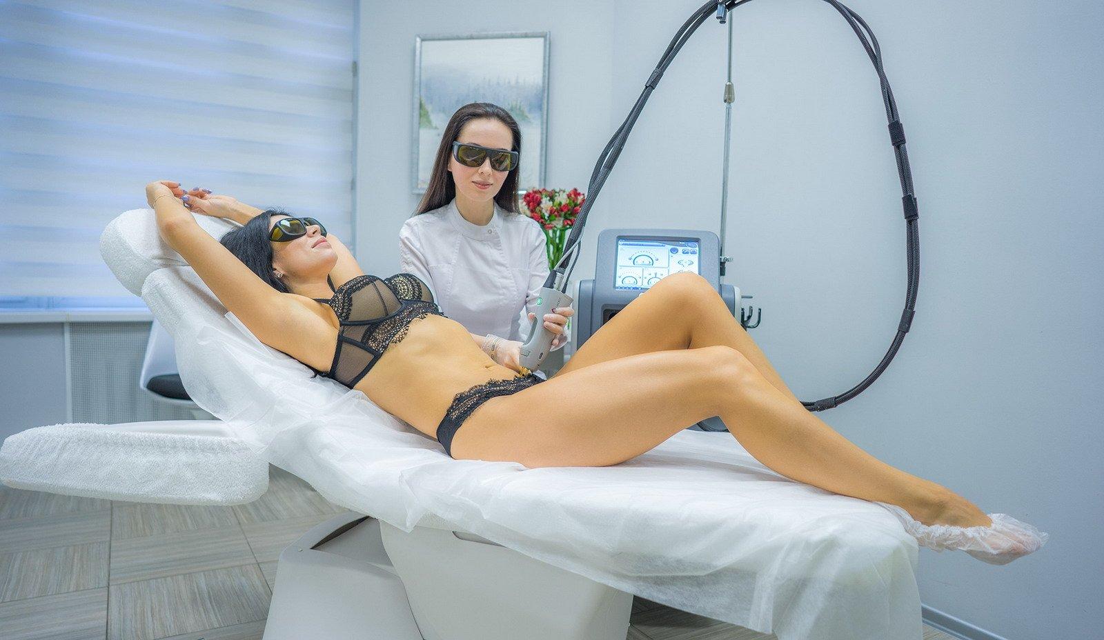 Интимная лазерная эпиляция