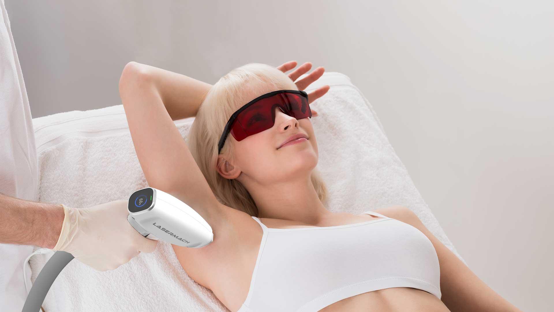 Лазерная эпиляция для светлых волос