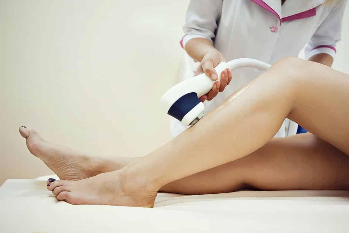 Электроэпиляции ног и голени