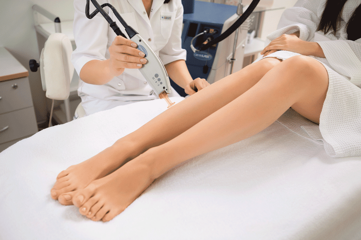 Электроэпиляция ног — сколько по времени