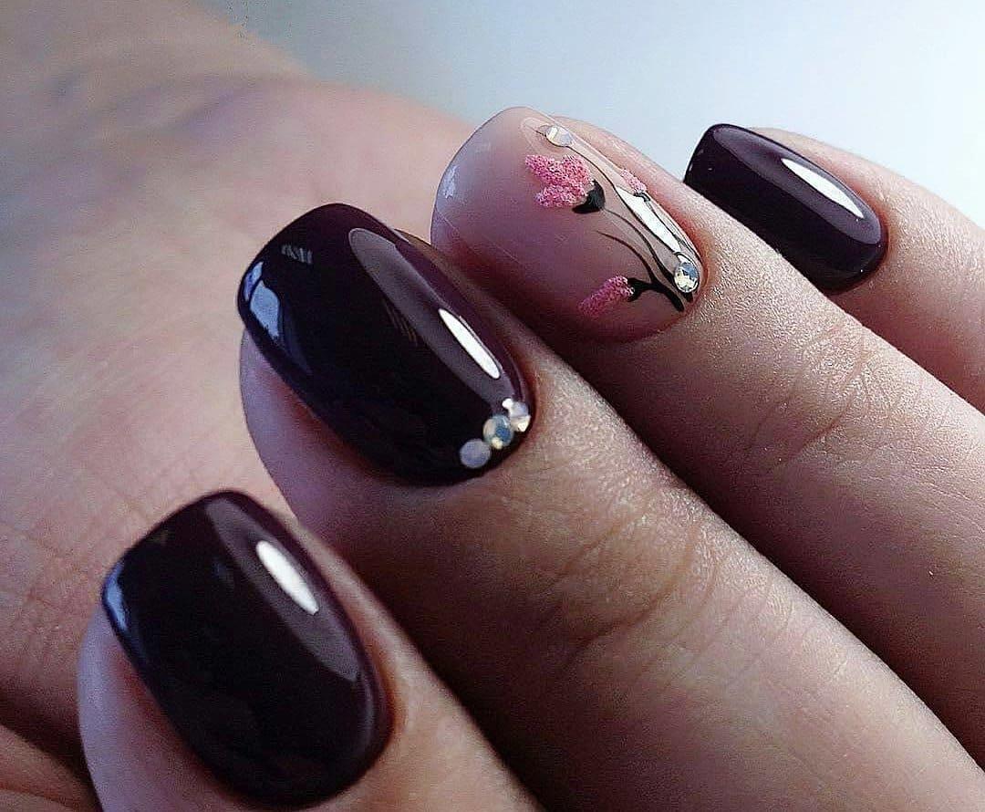 гель лак на короткие ногти