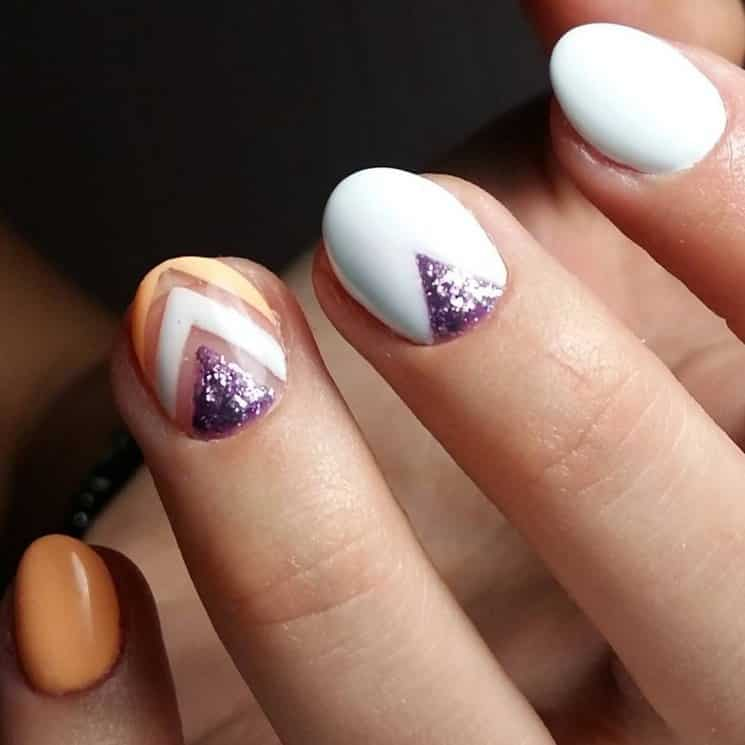 форма ногтей круглая