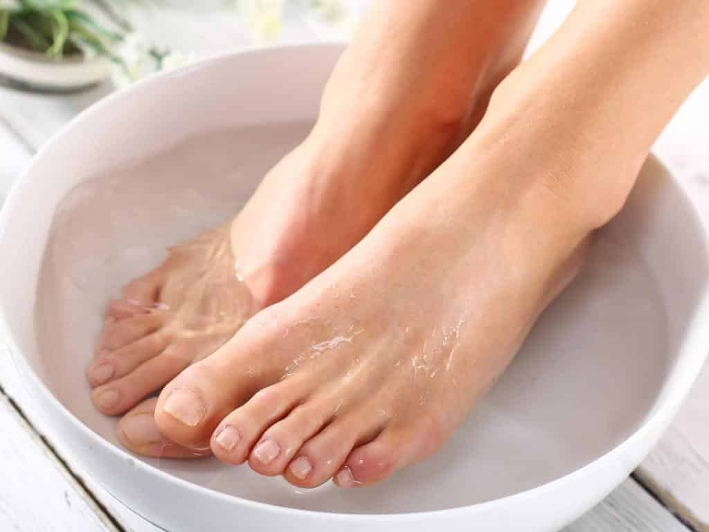 как размягчить ногти на ногах