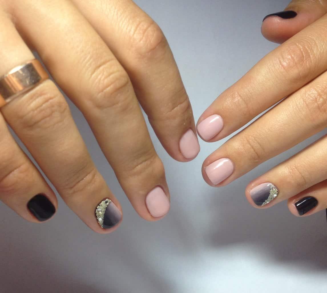 широкие ногти