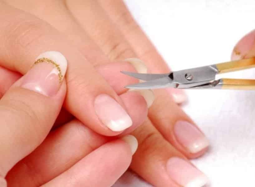 как правильно стричь ногти на руках