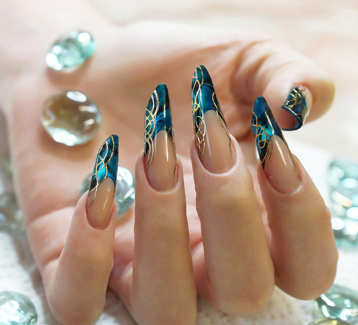витражные ногти
