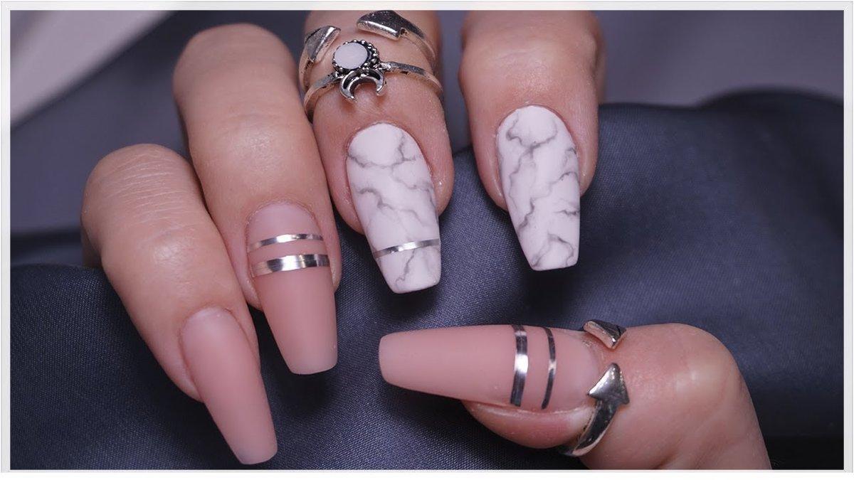 форма ногтей балерина