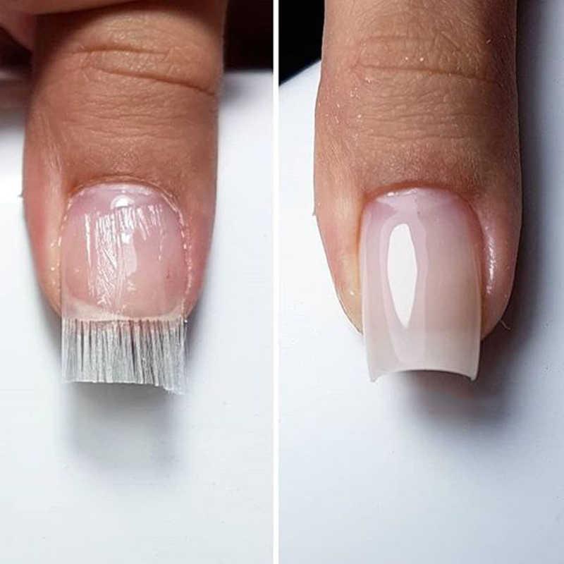 наращивание ногтей стекловолокном