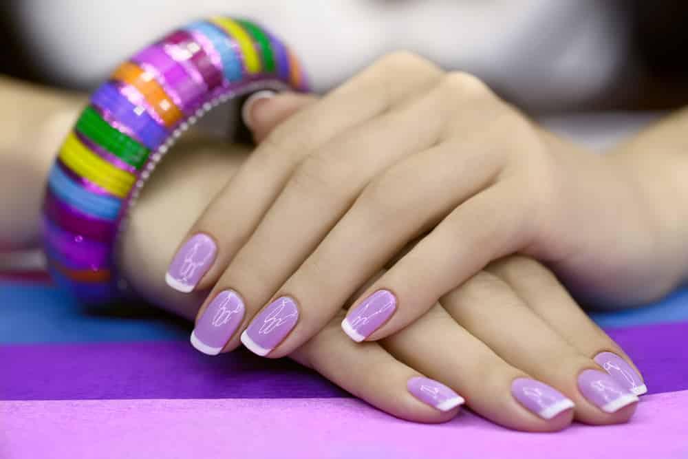 покрытие ногтей гелем