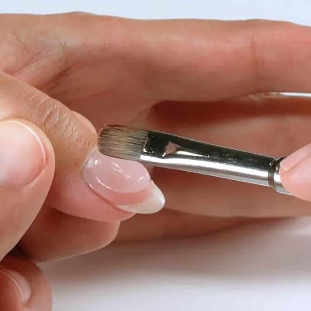 наращивание ногтей полигелем